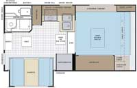 Lance campers model 851 floor plan