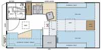 Lance sports camper floor plan