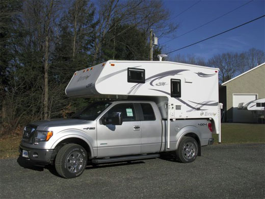 Airbags For Truck >> East End Campers - Slide in - Truck Campers 2012 Northstar Liberty